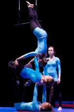 Les alumnes de l'Escola Juvenil de Circ. Foto de Luis Montero