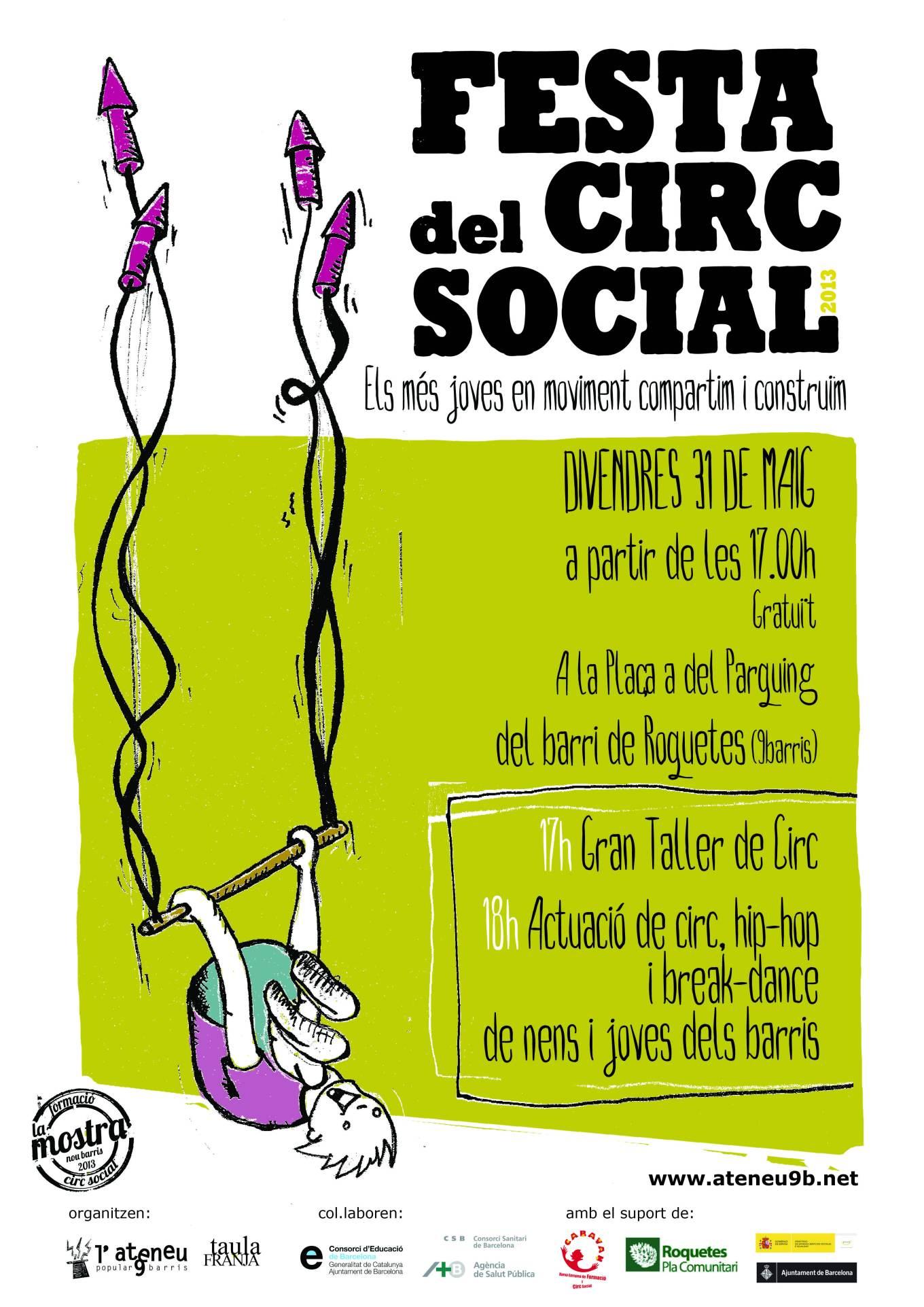 poster festa ciirc social