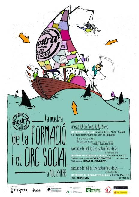 Poster Mostra Formació i Circ Social