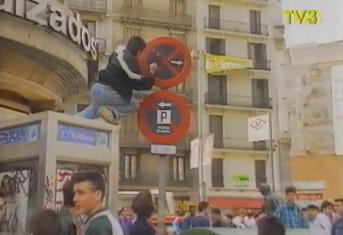 Graffiti Barcelona i pl universitat (1)