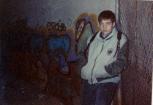Al costat del mateix graffiti amb 13 anys