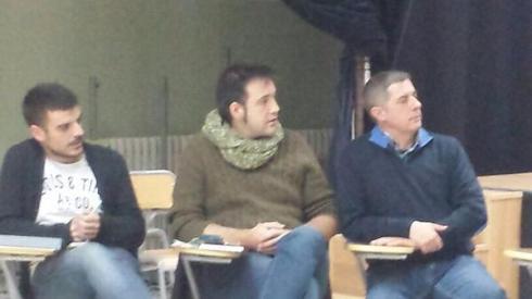 Miquel Rubio, Antonio Alcántara i Ricard Català