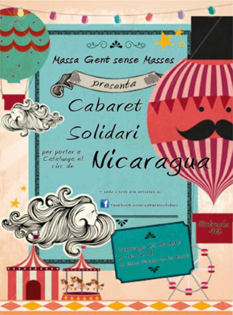 cabaret solidari Nicaragua