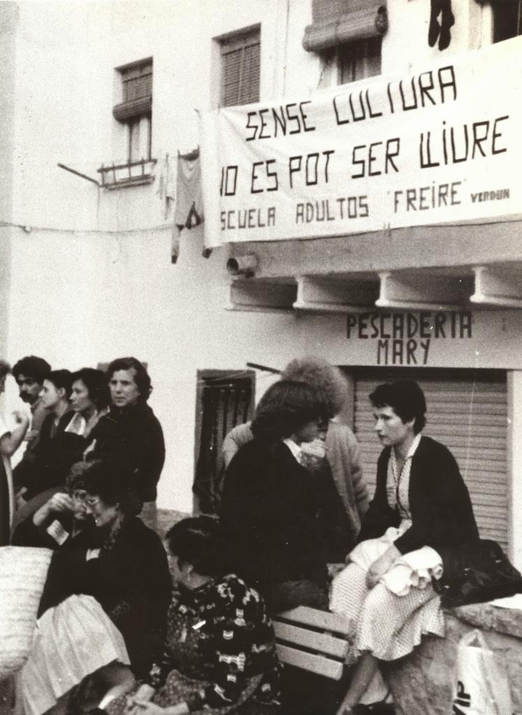 Sense Cultura no es pot se lliure Escola Freire