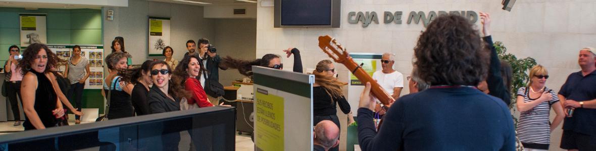 flamenco contra Bankia