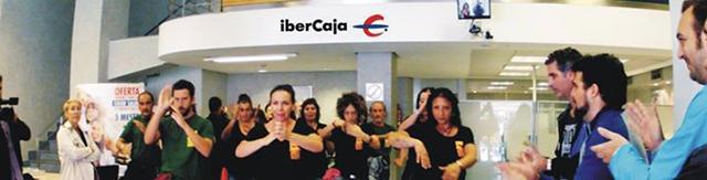 flamenco contra los bancos
