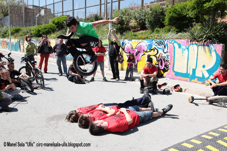 Trobada de monociclistes