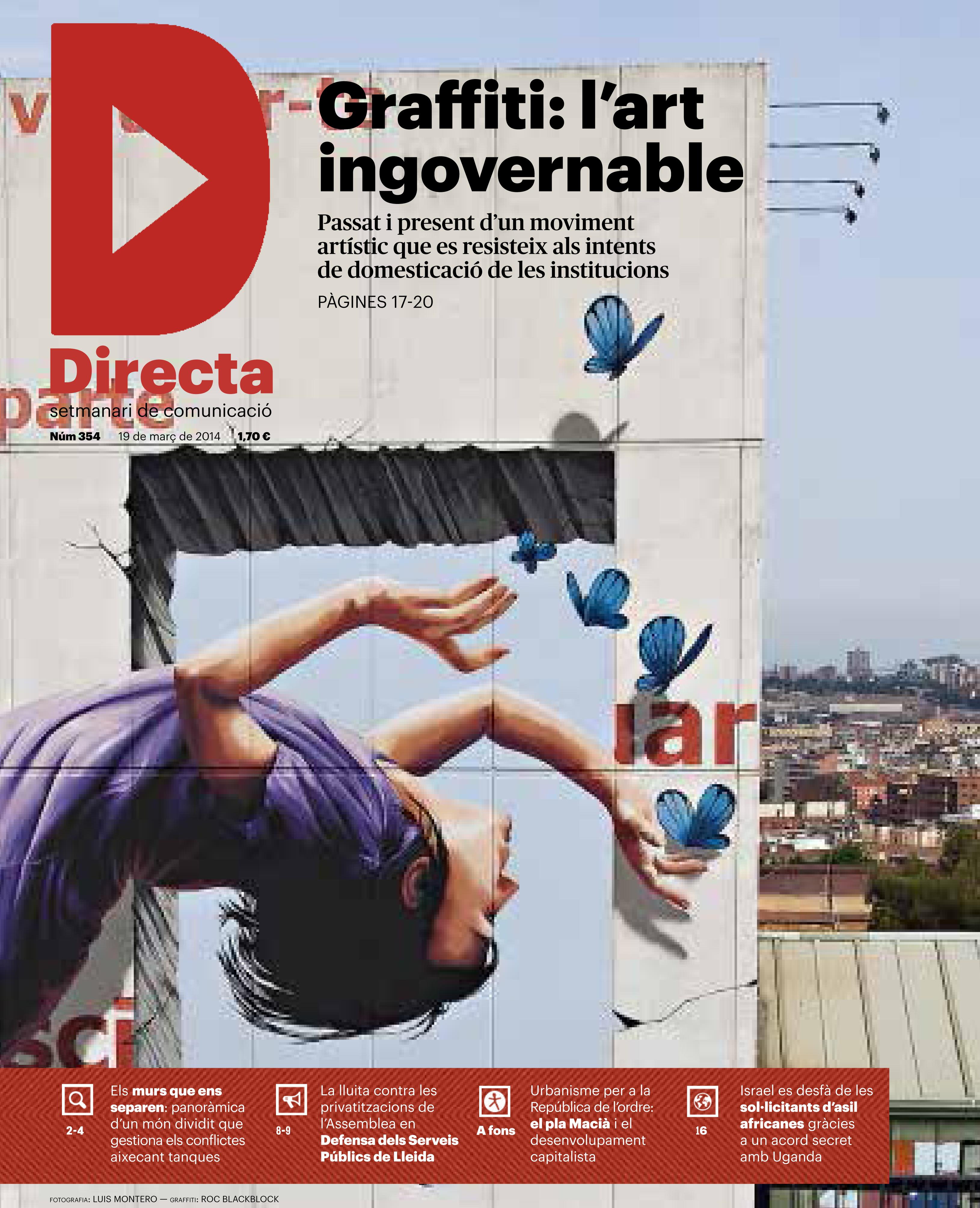 Reportatge Graffiti: L'art ingovernable